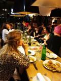 Creatives and vendors celebratingMercato Monti 3rd Bday the Italian way