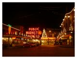 Pike Place Market Lights Up for the Holidays