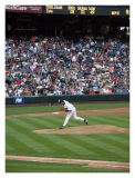Aaron Sele Pitches During Mariners-Orioles Game