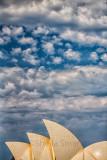 Sydney Opera House with sky