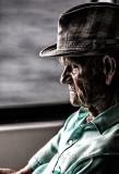 Man on ferry