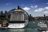 Celebrity Solstice in Sydney Harbour
