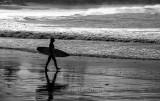 Surfer at Palm Beach