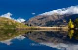 Glendhu Bay, Lake Wanaka, New Zealand with Mt Aspiring in background