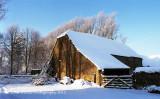 Snowy Barn 1981