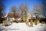 Snowy Churchyard