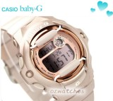 CASIO BABY-G DIGITAL 200M BG-169G BG-169G-4D ROSE GOLD 100% AUTHENTIC with BOX