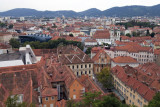 The roof tops of Graz - Austria