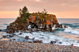 ** 108.51 - Grand Portage: Hollow Rock: Sunset One, Cascading Surf