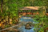 * 101a - Superior Area: Amnicon Bridge: Summer Morning Light (HDR)
