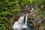** 45 - Cascade River:  Upper Cascades, High Dynamic Range