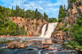 ** 50.1 - Tettegouche:  Baptism River's High Falls