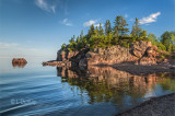 113.5 - Silver Bay:  Reflection