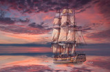 Tall Ships HMS Bounty -- A Photo-Graphic Tribute  (# TS-M)