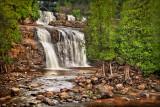 22.5 - Gooseberry, Lower Falls:  Oil Paint Effect