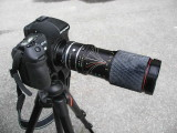Soligor 3X Extender with Tokina 35-200mm Lens
