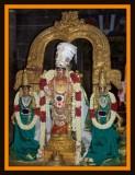 Thirupputkuzhi Sri Ramanavami Uthsavam - Sri Vijayaragavan Pushpa Pallakku
