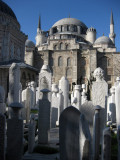 Istanbul mosque and cemetary