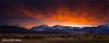 Sierras Sunset, by Bill Cathey