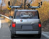 Honda Element rear window
