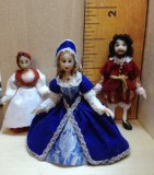 QUARTER SCALE DOLLS AND ANIMALS  click on thumbnail to enter gallery