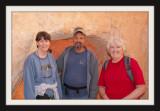 Jean, Greg & Debi on the Trail