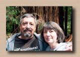 Greg & Jean at Muir Woods