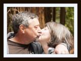Greg & Jean Kissing