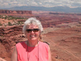 Deb at Canyonlands
