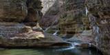 Illinois Canyon Falls Mid-winter