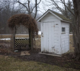 Outhouse and Arbor