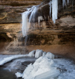 Late Ice at LaSalle Canyon