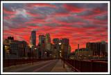 Minneapolis On Fire
