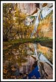 Reflection of Lower Calf Creek Falls