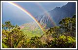 Kalalau Valley Rainbow