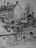 Hus och bakgård