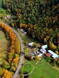 State Route 203 in autumn, Duvall,Washington