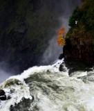 precarious location, Snoqualmie Falls, Washington