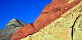 colors of Red Rock Canyon, Las Vegas, Nevada