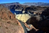 Hoover Dam, Black Canyon, Paint Pots, Fortification Hill, Lake Mead, Nevada
