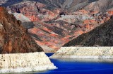 Colorado River, Hoover Dam, Black Canyon, Paint Pots,Fortification Hill, Nevad-Arizona
