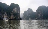 tour boats,Dau Go Island, Ha Long Bay, Vietnam
