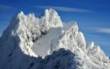 Wintery Overcoat Peak, Cascade Mountains, Washington, PNW