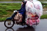 keeping blankets dry Northern Vietnam