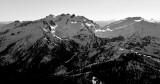 Mt Daniel, Mt Hinman, Cascade Mountains, Washington, PNW