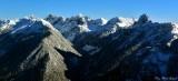 Burnboot Creek, Huckleberry Mt, Lemah Mt, Chimney Rock, Overcoat Peak, Cascade Mountains