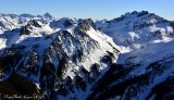 Mt Daniel, Dip Top Peak, Lynch Peak, Cascade Mountains, Washington