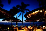 Dining with sunset, Fairmont Orchid, Puako, Hawaii