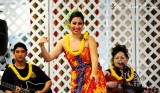 performing the hula,  Hilo,  Hawaii