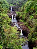 Umauma Falls, Big Island, Hawaii